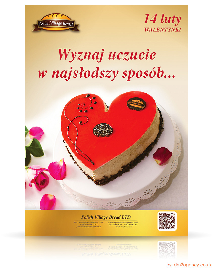 Sweet And Cute Brand Marketing Valentine S Day Campaign For Polish