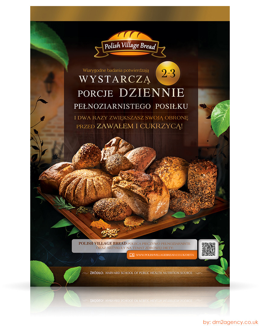 dm2 agency together with the polish village bread bakery